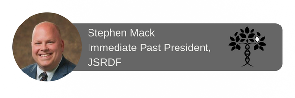 Stephen Mack Immediate Past President, JSRDF