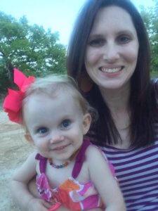 Meghann Grace and daughter Hensley